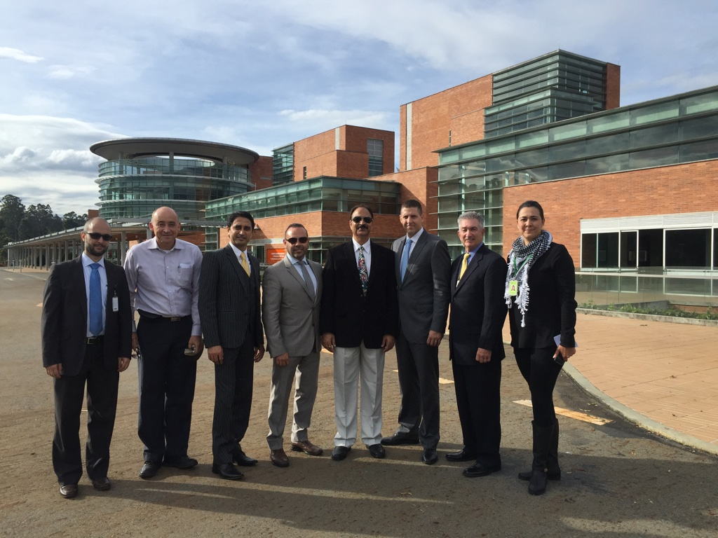 GIOSTAR Chairman Dr. Anand Srivastava Meeting with the Board Members of San Vicente Foundation at Medellin, Columbia
