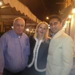 GIOSTAR CEO with Prince Nicolo of Rome and Princess Rita of Rome