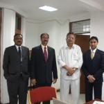 GIOSTAR CEO Mr. Deven Patel & Dr. Anand Srivastava Meeting with Chhattisgarh CM