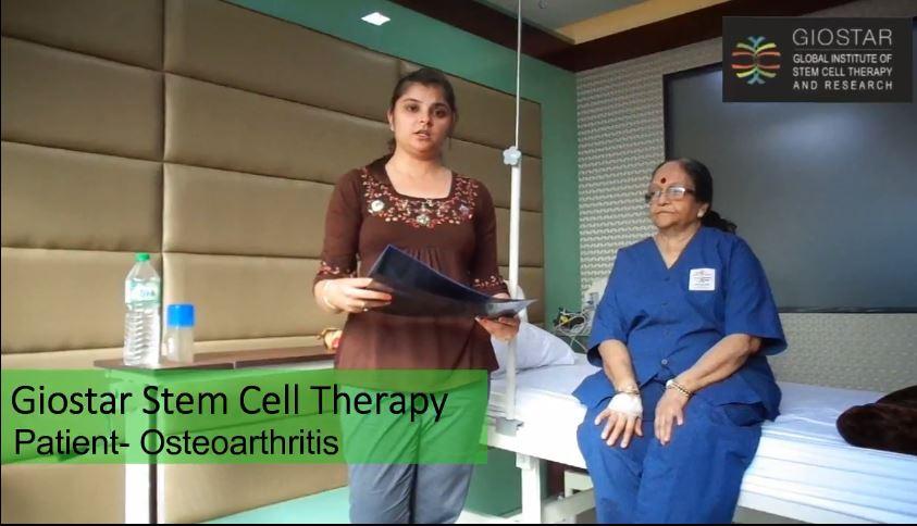 Osteoarthritis Patient Testimonial - GIOSTAR