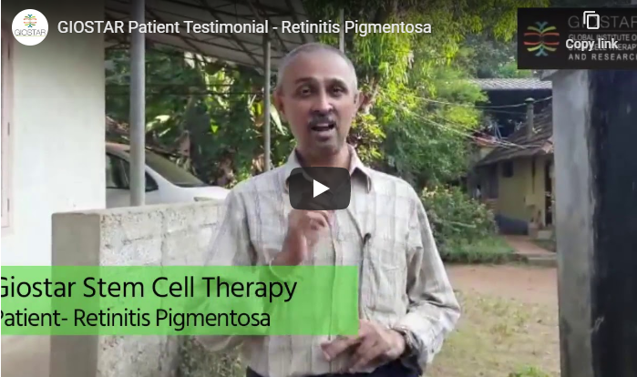 GIOSTAR PATIENT TESTIMONIAL – RETINITIS PIGMENTOSA